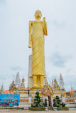 The giant golden Buddha,Buddhism,Thailand Stock Photography