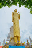 The giant golden Buddha,Buddhism,Thailand Royalty Free Stock Photos