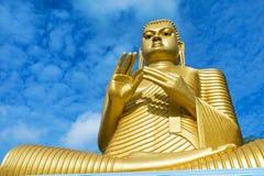 Giant Golden buddha Royalty Free Stock Photo
