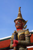 Giant in Grand palace in Bangkok, Thailand Royalty Free Stock Photos