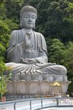 Giant Granite Buddha Statue Stock Image