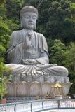 Giant Granite Buddha Statue Stock Image