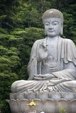 Giant Granite Buddha Statue Royalty Free Stock Photo