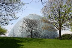 Giant Greenhouse Dome