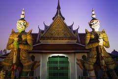 Giant guard. In Thai temple stock photos