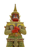 Giant guardian in Thailand Royalty Free Stock Photo