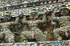 The Giant Guardian of Wat Arun Royalty Free Stock Images