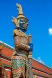 Giant Guardian at Wat Pho, Bangkok, Thailand. Giant Guardian at Wat Pho known as Yak Wat Pho, Bangkok, Thailand Stock Image