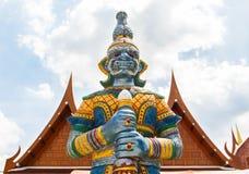 Giant guardian. (yak) at Wat Wat Bang Peng Tai Stock Photography