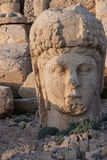 Giant head of goddess Tyche Royalty Free Stock Photo