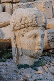 Giant head of goddess Tyche Royalty Free Stock Photography