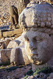 Giant head of goddess Tyche Royalty Free Stock Photos