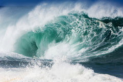 Giant hollow wave Royalty Free Stock Photo
