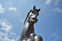 Giant Horse Sculpture Royalty Free Stock Photography