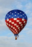Giant hot air balloon Stock Photos