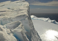 Giant Iceberg. Heading out to sea Stock Photography