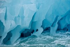 Giant Iceberg in Svalbard Royalty Free Stock Photography