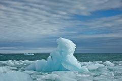 Giant Iceberg in Svalbard Royalty Free Stock Photos