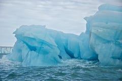 Giant Iceberg in Svalbard Royalty Free Stock Photos