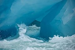 Giant Iceberg in Svalbard Stock Image