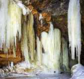 Giant Icicles Stock Images