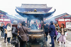 Giant incense burner Stock Photography