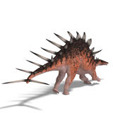 Giant kentrosaurus dinosaur Royalty Free Stock Photography