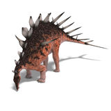 Giant kentrosaurus dinosaur Royalty Free Stock Images