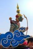 Giant khon parade Stock Photo