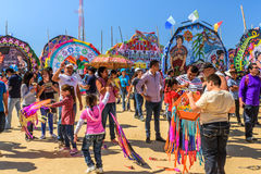 Giant kite festival, All Saints' Day, Guatemala Stock Images