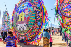 Giant kite festival, All Saints' Day, Guatemala Stock Photo