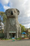 The Giant Koala (1989) is 14 metres high and weighs 12 tonnes. It is made of bronze and sits on a steel frame Stock Images