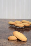 Giant lady finger cookies Royalty Free Stock Photography