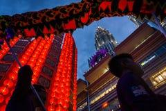 Giant Lantern at Petronas Twin Tower Stock Photos