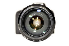 Giant lens Royalty Free Stock Image