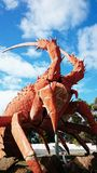 Giant Lobster Statue Landmark Royalty Free Stock Photography