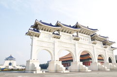 A giant memorial hall Stock Images