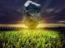 Giant meteorite Royalty Free Stock Photos