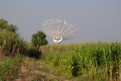 Giant Meter-wave Radio Telescope, GMRT, India. Royalty Free Stock Photo