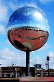 Giant Mirror Ball Stock Photo
