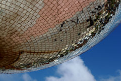 Giant Mirror Ball Panals Royalty Free Stock Photography