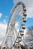 Giant mobile ferris wheel Royalty Free Stock Photo