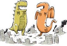 Giant Monster Dance Stock Image