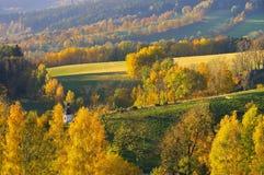 Giant  Mountains in autumn Royalty Free Stock Photos