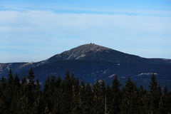Giant mountains, (czech: Krkonose, Pec pod Snezkou), the northern part of the Czech Republic Stock Photo