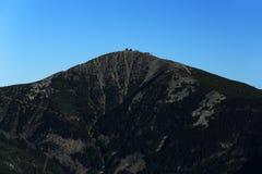 Giant mountains, (czech: Krkonose, Pec pod Snezkou), the northern part of the Czech Republic Stock Photos
