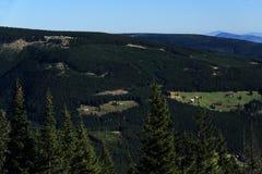 Giant mountains, (czech: Krkonose, Pec pod Snezkou), the northern part of the Czech Republic Stock Image