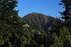 Giant mountains, (czech: Krkonose, Pec pod Snezkou), the northern part of the Czech Republic Royalty Free Stock Images