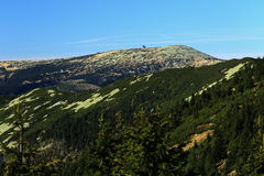 Giant mountains, (czech: Krkonose, Pec pod Snezkou), the northern part of the Czech Republic Stock Images