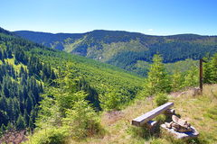 Giant Mountains (Czech: Krkonose), Riesengebirge, Czech, Polannd Royalty Free Stock Photo